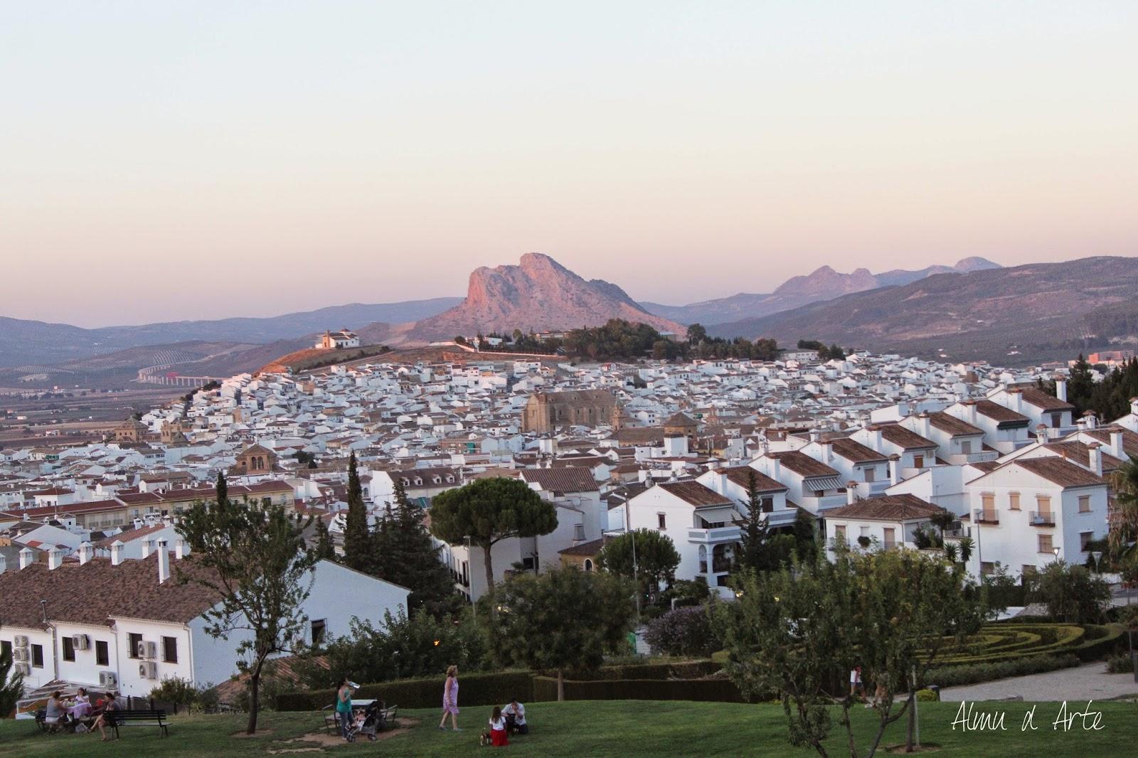 Vistas de la ciudad de Antequera