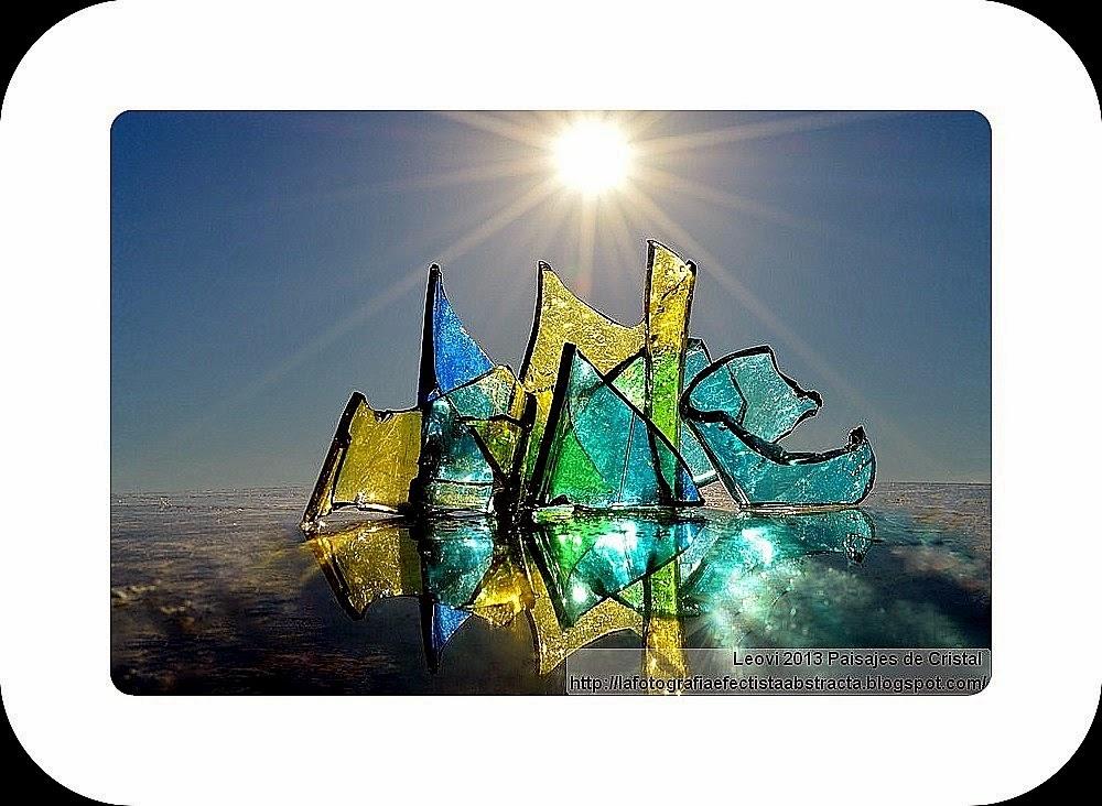 """Foto Abstracta 3000 Crystal Paisaje 138 de la A a la Z 2014 """"C"""" Homenaje a """"Calexico"""" Crystal Frontier"""