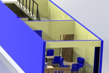 Jasa Desain Denah Rumah 3D