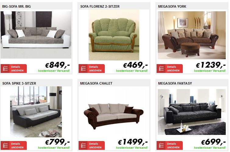 markenm bel bei m bel online kaufen erdbeerchens testwelt. Black Bedroom Furniture Sets. Home Design Ideas