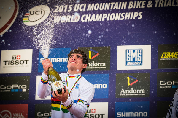 2015 Vallnord UCI World Championship Downhill: Highlights Loic Bruni
