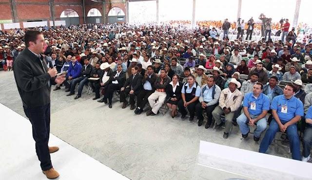 Gobierno  cumple compromiso con ejidatarios de Vicente Guerrero
