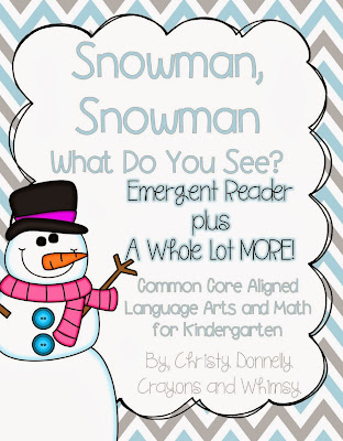 snowman book crayons and whimsy
