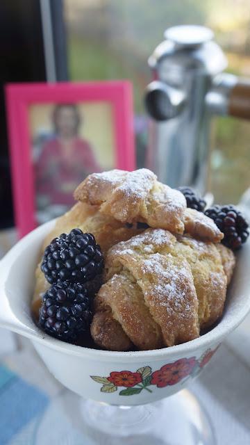 Fanny Cradock Croissants