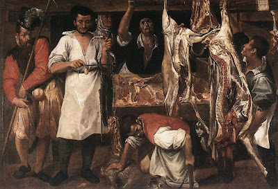 """Annibale Carracci """"Butchers Shop"""""""