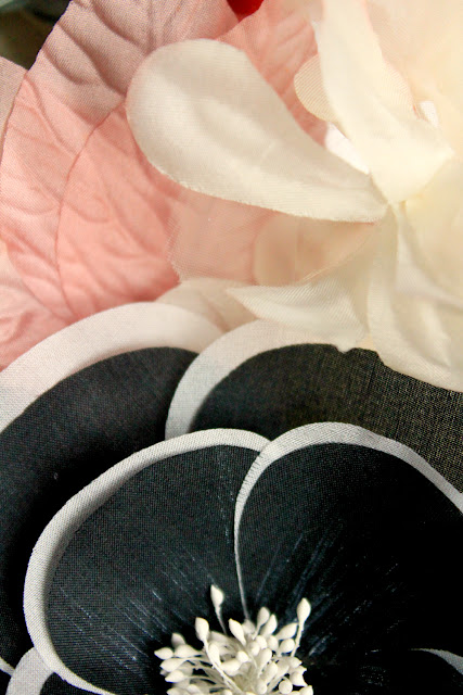 design materials -catherine masi - black white pink