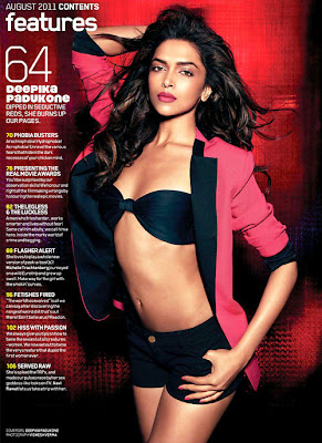 Deepika Padukone Bikini Stills For New Maxim Cover !