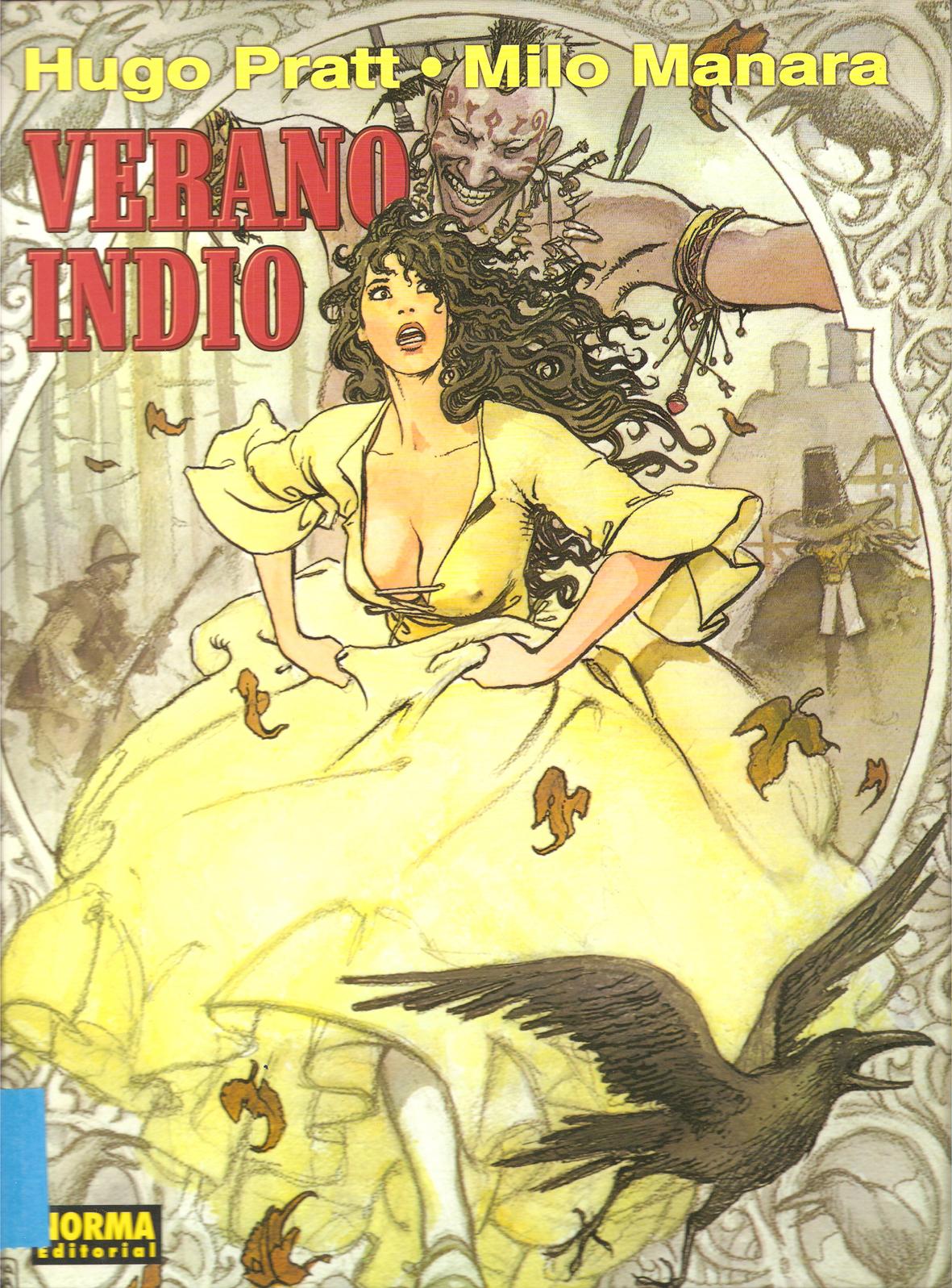 El arte del comic y la ilustración Verano+indio2