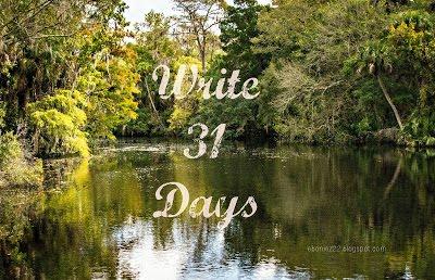 Write 31 Days 2016