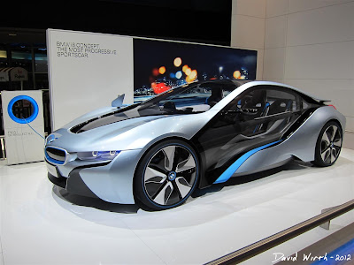 BMW i8 electric Concept Car sportscar