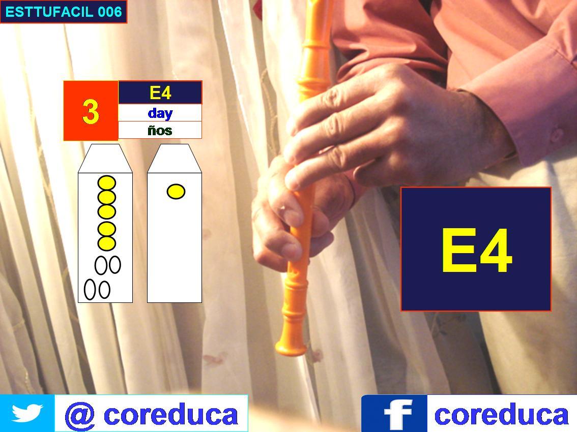 Flute position E4