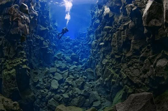 Silfra Rift, Iceland