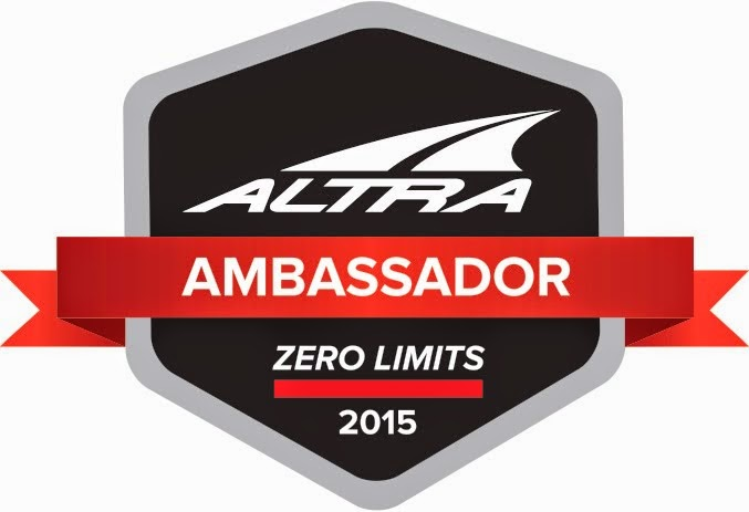 Part of Team Altra for 2015