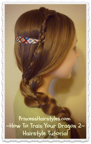 How To Train Your Dragon 2, Astrid Hairstyle