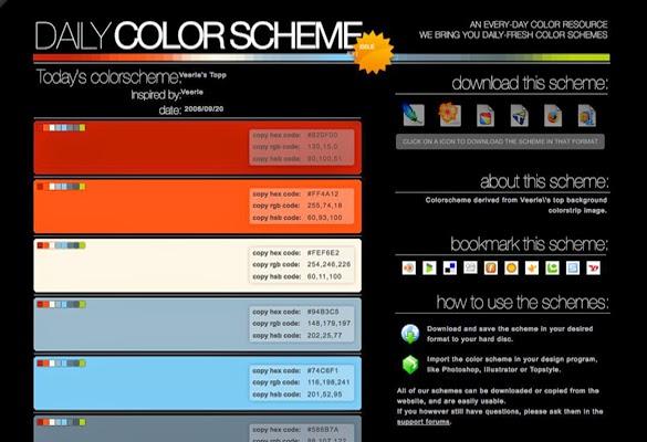 Daily Colorscheme