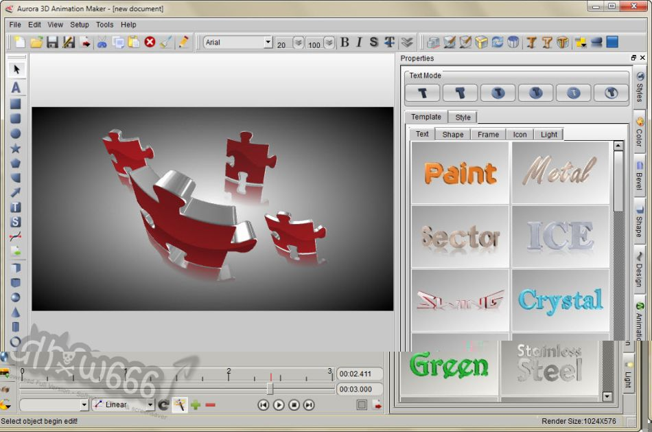 aurora 3d text & logo maker serial number free
