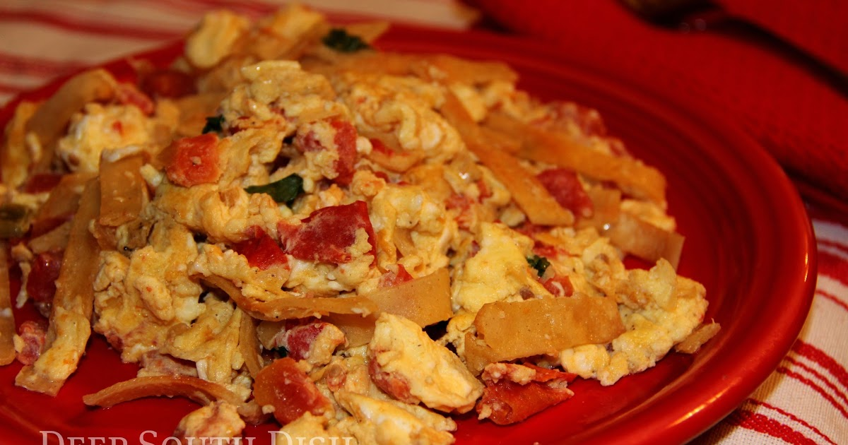Deep South Dish: Tex-Mex Migas