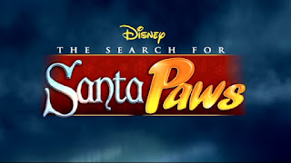 The Search for Santa Paws title