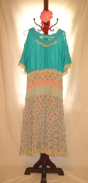 Boho Style Bohemian Baggy Free Style Short Sleeve Women's Dress