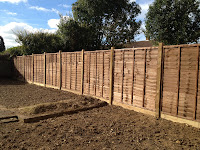 fencing, overlap fence panels, fence construction, crawley, horsham, dorking