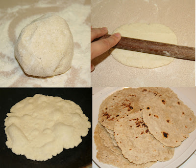 Gluten-free tortilla steps to make