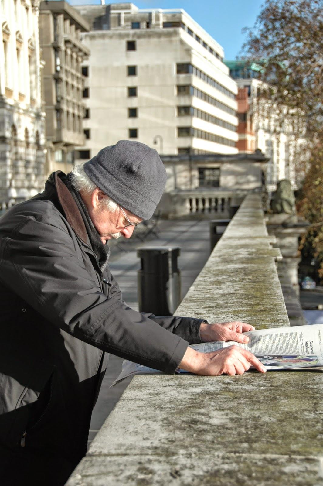 Senior v Londýně