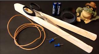 Experimentos Caseros cortadora foam materiales