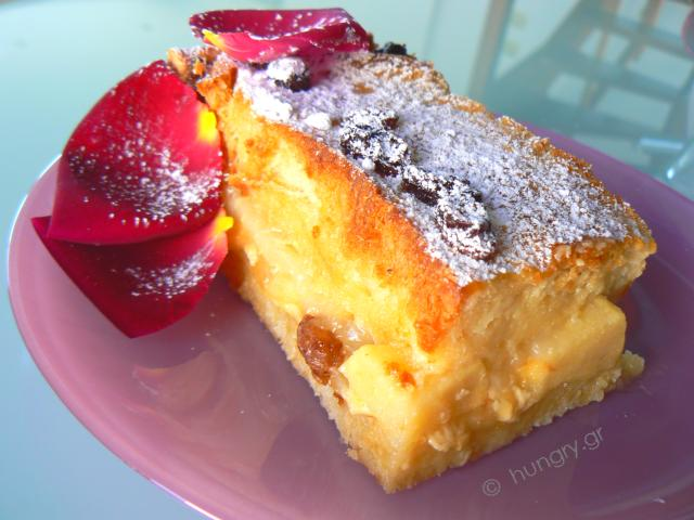 Bread Pudding with Easter Cake