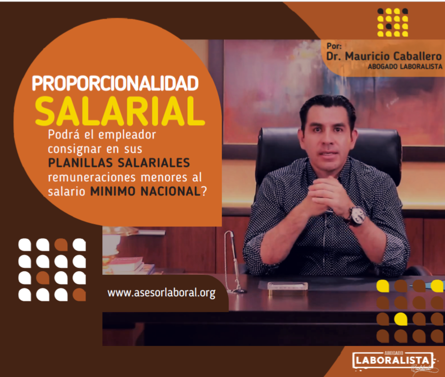 PROPORCIONALIDAD SALARIAL