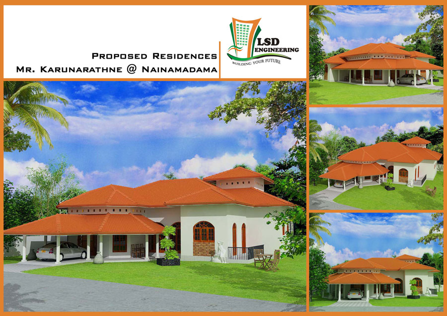 Sri Lanka House Construction And Plan Images Frompo