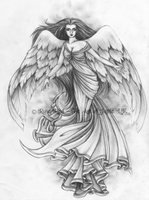 Angel Tattoo Designs .