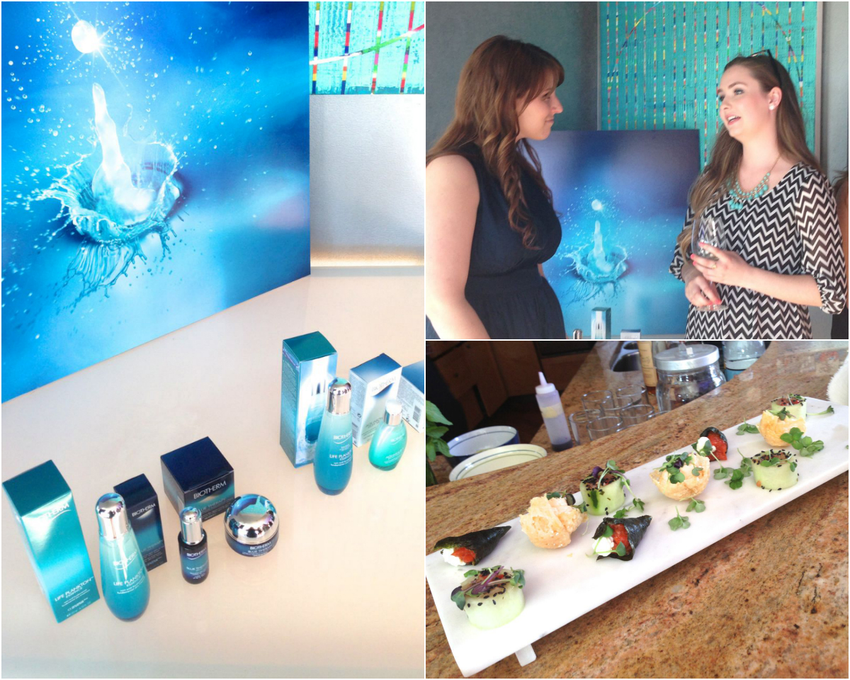 Biotherm Life Plankton Essence Unveiling Event