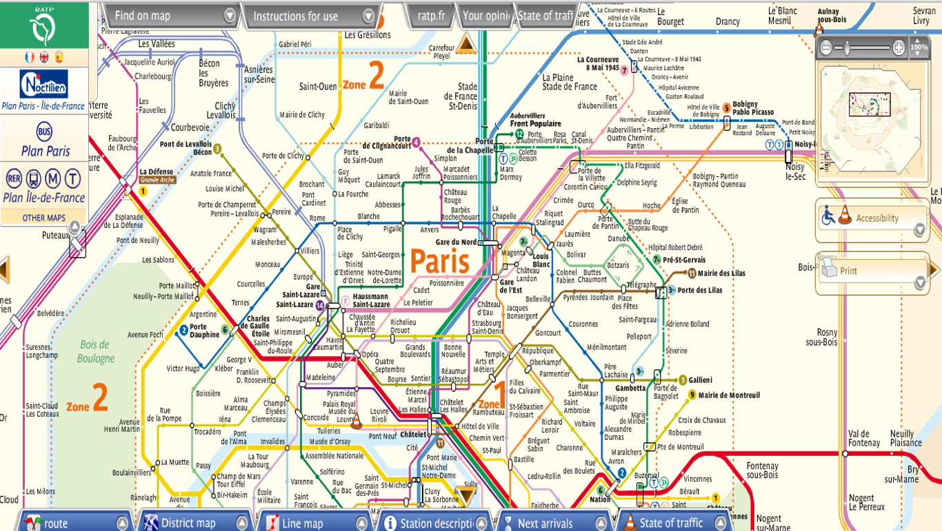 Maps Update 533390 Map of Paris and Suburbs Neighborhood Maps – Attraction Map of Paris