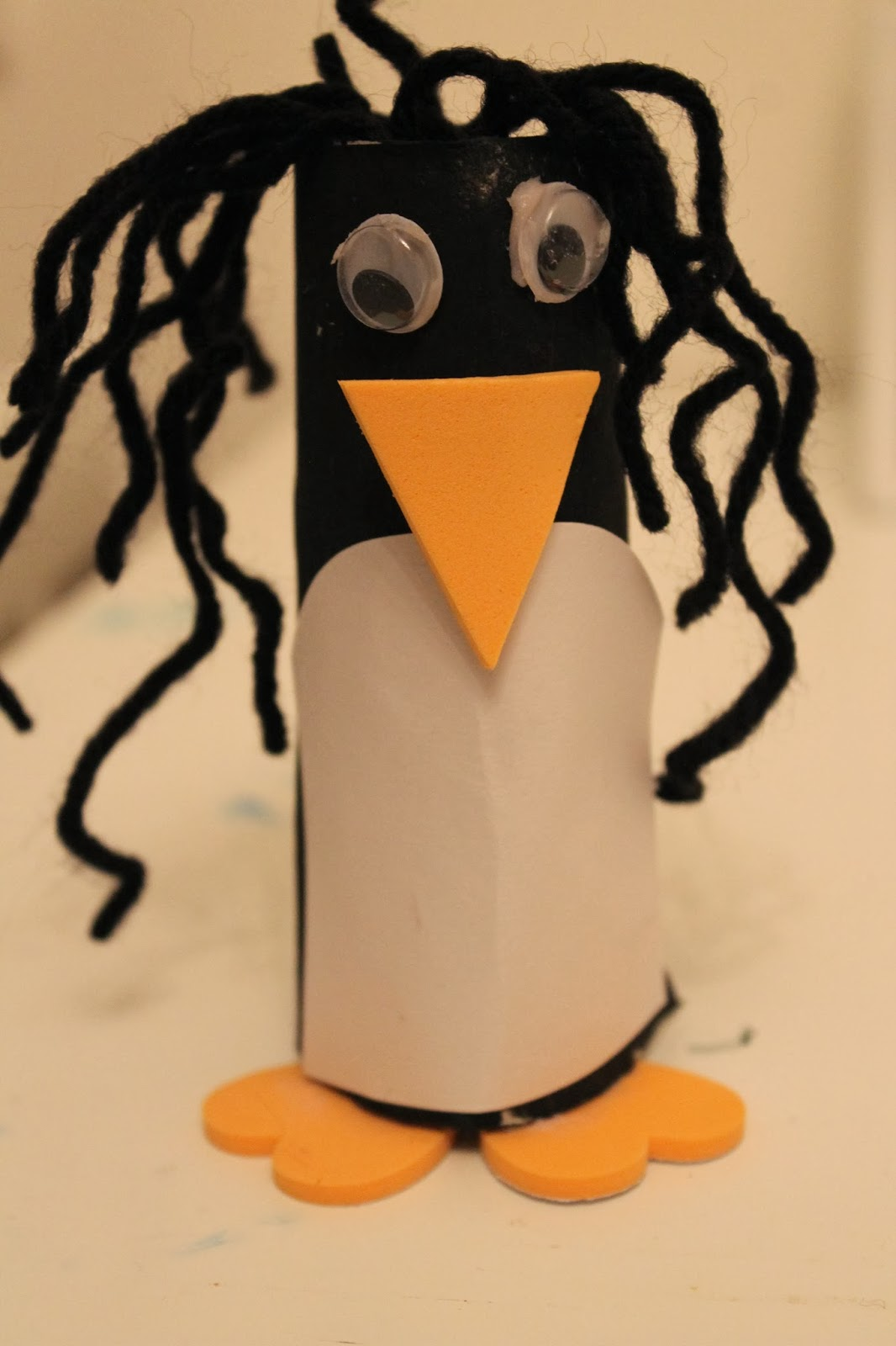 Toilet Roll Penguin Craft