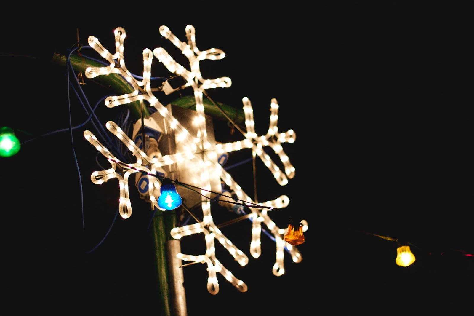 Belper Christmas Lights, Snowflake,