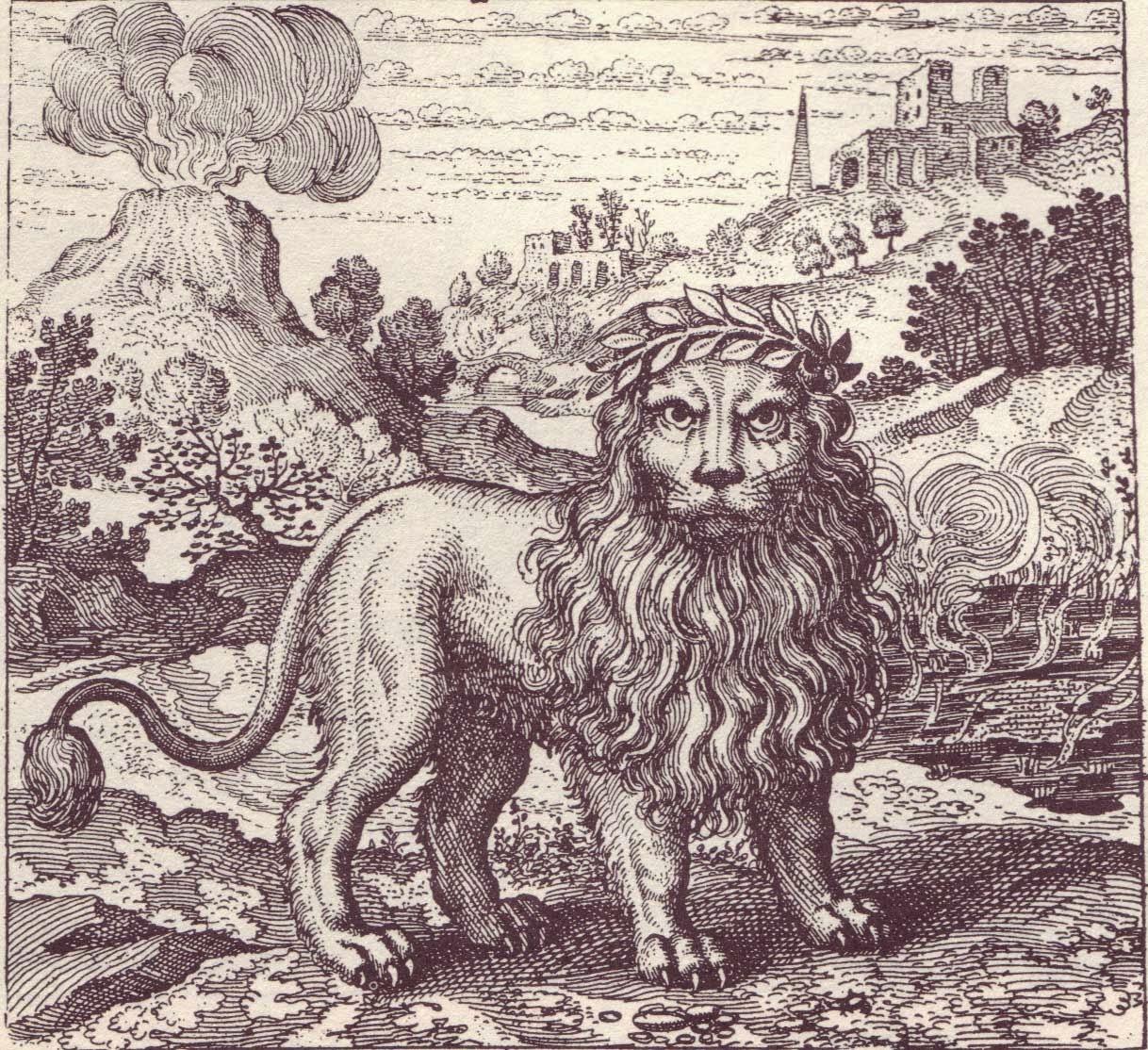 Emblema 37 de La Fuga de Atalanta de Michel Maier