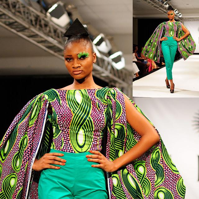 Ghanaian designer Mina Evans vlisco sur ciaafrique