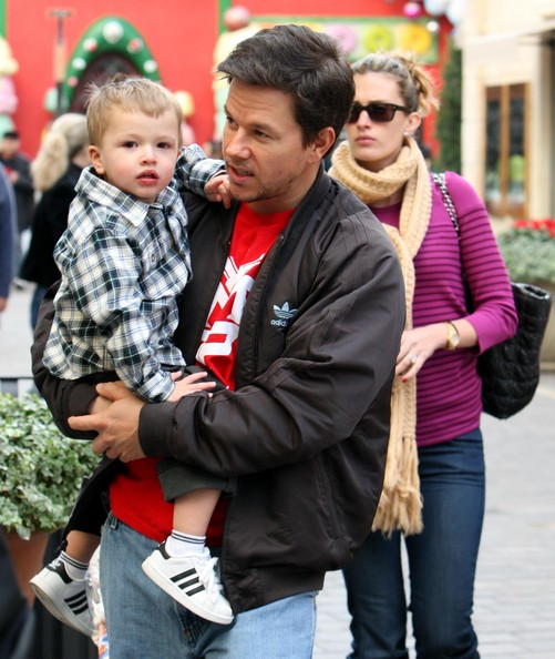 Mark Wahlberg and Rhea Durham's cute beby Michael Wahlberg