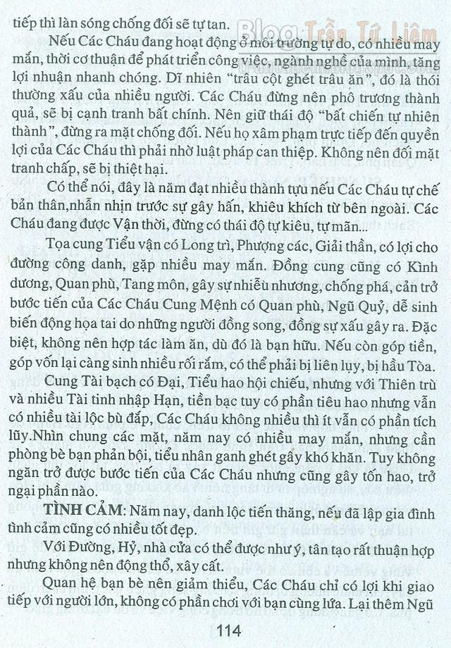 TỬ VI TUỒI 2000 CANH THÌN NỮ