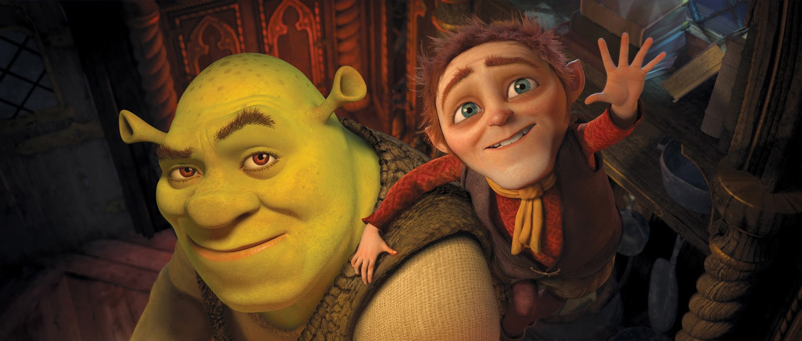 Shrek Rumpelstiltskin Shrek Forever After 2010 animatedfilmreviews.blogspot.com