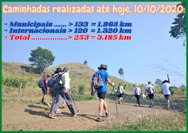 Caminhadas até 10/10/2020