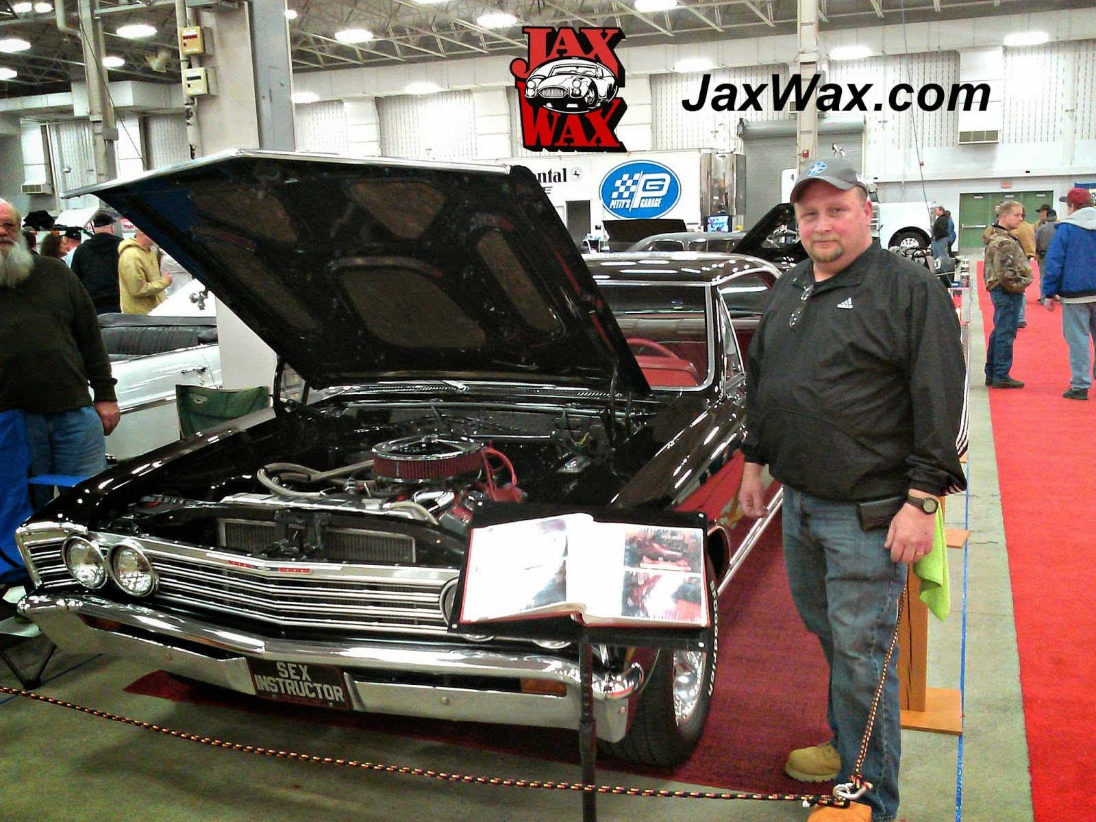 1967 Chevy Malibu Indianapolis World of Wheels Jax Wax Customer