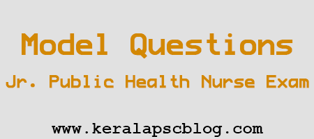 Junior Public Health Nurse Exam Model Questions
