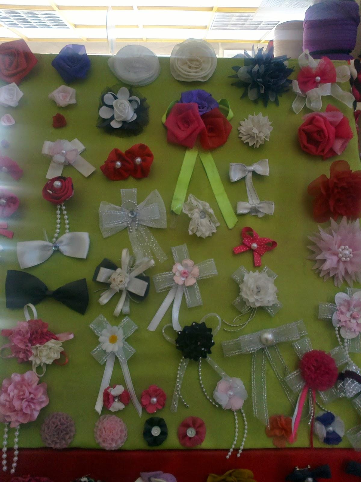 en güzel ve en ilginç süsleme çiçeği örnekleri - kumaştan süs çiçekleri