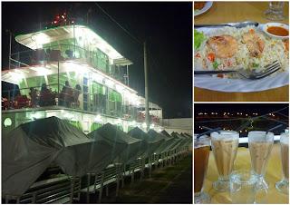 captain t restaurant, restoran kapal terapung, kota bharu, tempat makan menarik