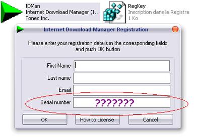 internet download manager free serial number for registration