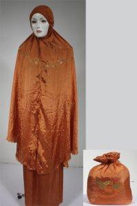 Mukena Dewasa Parasut Model 2 - Merah Bata (Toko Jilbab dan Busana Muslimah Terbaru)