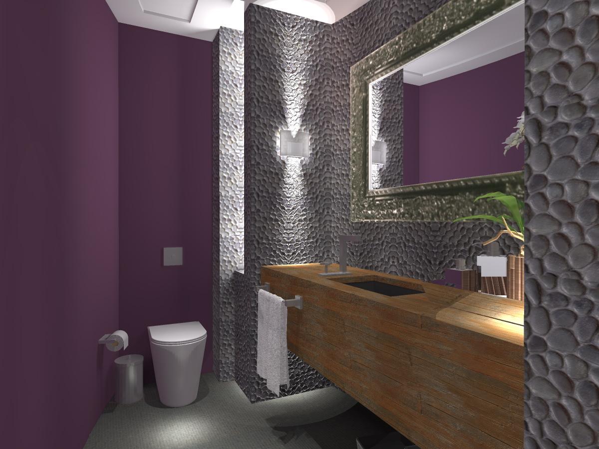BANHEIROS COMPARATO ARQUITETURA #8E703D 1200x900 Bancada Banheiro Limestone