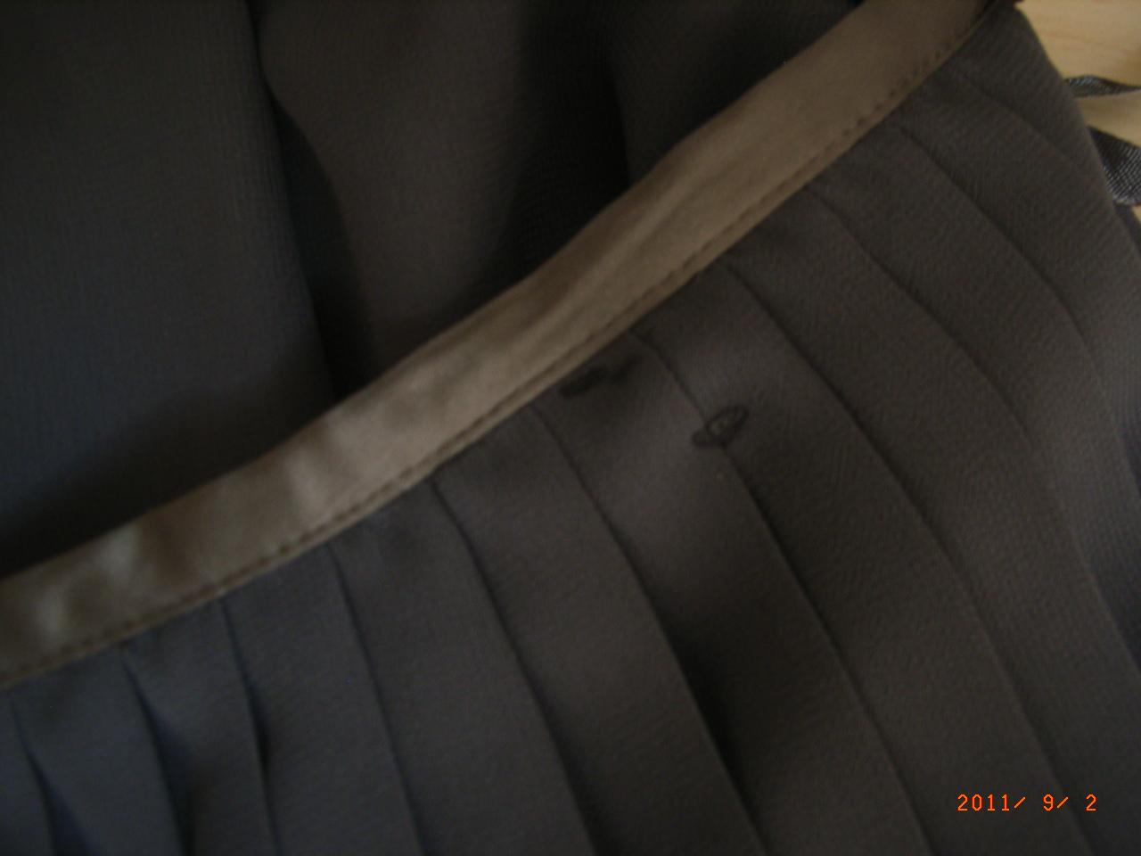 vetement en ligne vide dressing de Flora : LES PETITES - Jupe plissée grise - T40 - NEUVE