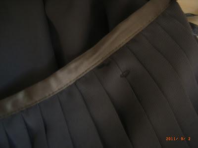vide dressing LES PETITES - Jupe plissée grise - T40 - NEUVE